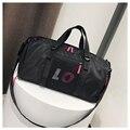 Модная отделение для сухого и мокрого спортивная сумка  большая вместительность  унисекс  на короткие расстояния  можно положить обувь  фит...