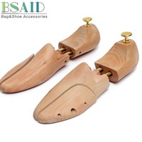 BSAID 1 Pair Shoe Stretcher Shoes Tree Shaper Rack,Adjustable Wooden Professional Pumps Boots Expander Trees For Women And Man