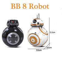 Star Sphero BB 8 Wars Remote Control Robot Ball BB 8 Droid RC BB 8 BB 9E Last Jedi Distance Control Children Educational Toys