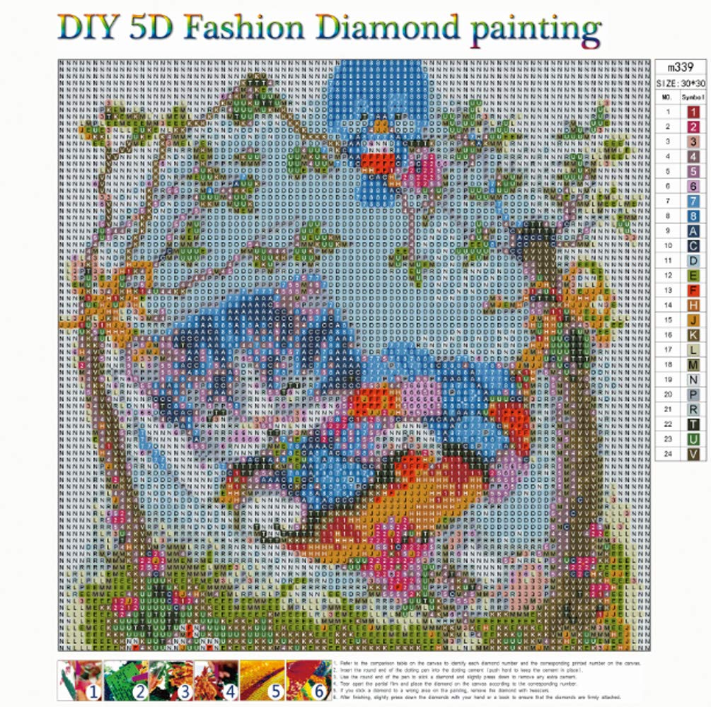 5D Diamond Painting Full Drill Kits For Adults Pasted Embroidery Cross Stitch Arts Craft for Home Wall Decor Cat Swinging in Diamond Painting Cross Stitch from Home Garden