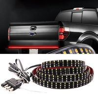 60Inch Triple Row 5 Function Truck Tailgate LED Strip Light Bar With Reverse Brake Turn Signal For SUV Car Accessories