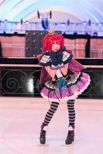 LoveLive!Sunshine!! Ruby Kurosawa Halloween Dress Night Party Awakening Cosplay Costume O