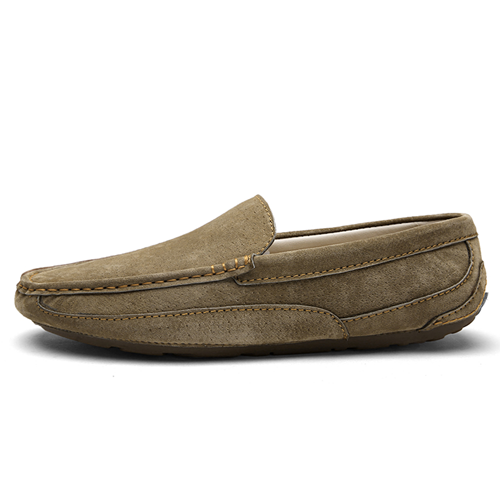 Casual Men Shoes Slip-On Spring and Autumn Fur Loafers Fashion Drivers Loafer Pig Suede Leather Zapatos Chaussure Hombre Sapato men shoes canvas zapatos hombre 2016 new shoe mens chaussure fashion casual sapato masculino spring autumn man sapatos light