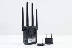 Image 4 - 1200Mbps COMFAST Wireless WiFi Range Extender 2.4/5.8 GHz Dual Band Repeater Booster สัญญาณ Ethernet 4 เสาอากาศ Wi Fi amplifer AP
