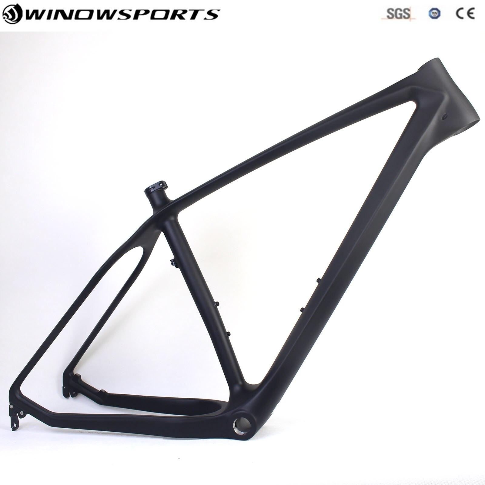 Hot Selling Carbon Fat Bike Frame BSA Carbon Snow Bike Frameset Snow Bike Frame Fatty Frame 197/190 Rear Space For Exchange