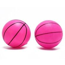 1 шт. 16 см горячая Распродажа надувной ПВХ баскетбольный пляжный мяч для детей и взрослых, для улицы, веселые спортивные игрушки, шары, цвет случайного выбора