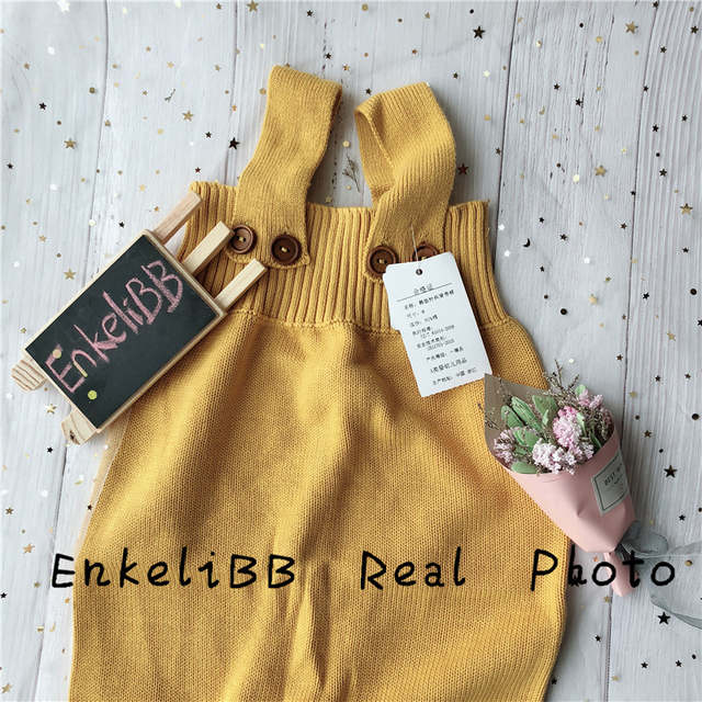 b893cd6103ad Online Shop BOBO CHOSES Baby Knitting Romper Cute Warm Baby Jumpsuit ...