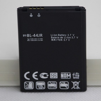 ISUNOO 20pcs/lot BL-44JR Phone Battery For LG P940 SU540 SU800 D160 L40  BL44JR BL 44JR  phone replacement battery