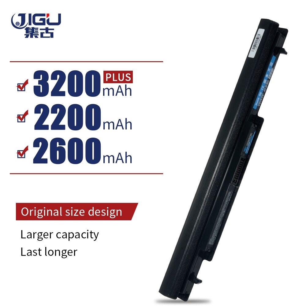 Bateria do portátil de jigu para asus A31-K56 A32-K56 A41-K56 A42-K56 séries a56 a46 k56 k56c k56ca k56cm k46 k46c k46ca k46cm s56 s46