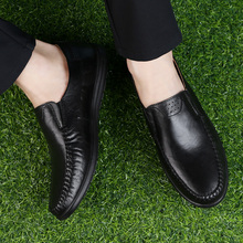 ARUONET Genuine Leather Men Shoes High Quality Loafers Shoes Luxury Fashion Men Flats Shoes Zapatos Hombre Casual Cuero Genuino недорго, оригинальная цена