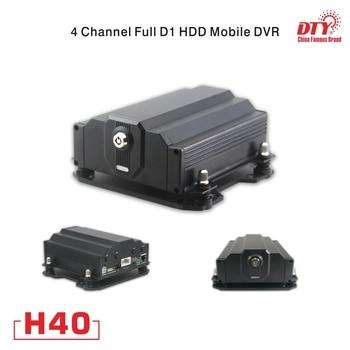 4CH D1 HDD DVR, 4 kanal RJ45 günstige cctv dvr mit SMS, H40-4G