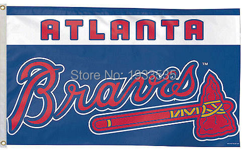 Atlanta Braves Flag Large 3x5