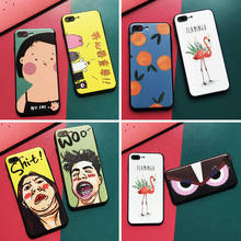 New Cartoon Painted For Iphone 6 6S 7 8plus X Xs Xr Xsmax Embossed Tpu All-Inclusive Protective Shell all new x men vol 7