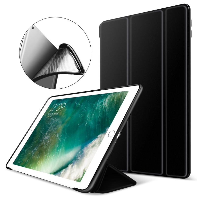 Case for iPad Air 2 Slim Magnetic Flip Stand Silicone Soft Back Cover for iPad 6 9.7 PU Leather Funda for iPad Air 2 Smart Case