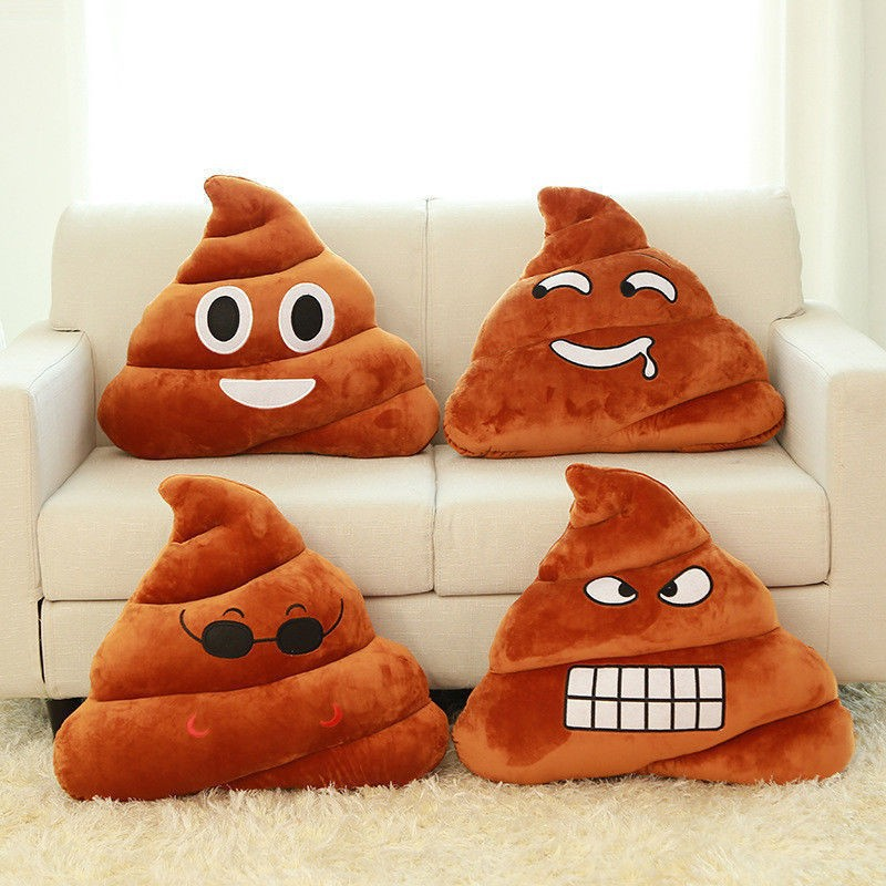 30cm Funny Plush Cushion Emoji Pillow Gift Cute Shits Poop 4 Emoji Stuffed Toy Doll Christmas Present,1pcs/pack cute penis plush toys creative funny fun dildo pillow doll sexy plush toy gift for adult plush toy