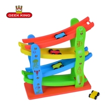 GEEK KING wooden educational toys Track Toys baby montessori math toys learning game toys fun brinquedos baby gift все цены