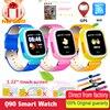 Baby Smart Watch Q90 GPS Phone Positioning Fashion Children Watch 1 22 Inch Touch Screen WIFI