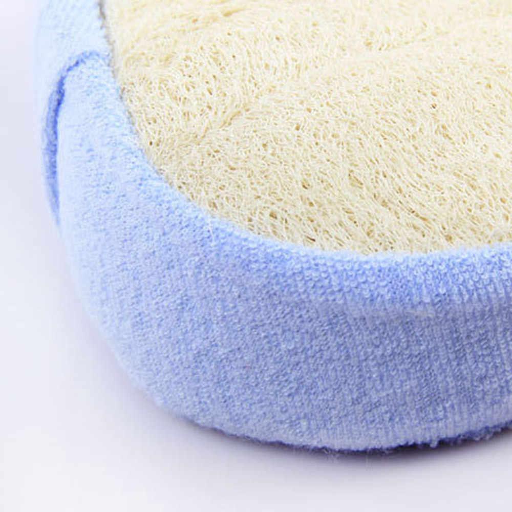 Toalla de baño de Loofah Luffa con esponja para lavar el cuerpo