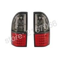 Светодиодная сигнальная лампа дым тюнинг подходит для TOYOTA LAND CRUISER PRADO 1996 1997 1998 1999 2000 2001 сзади набор ламп левый + подходящую пару набор