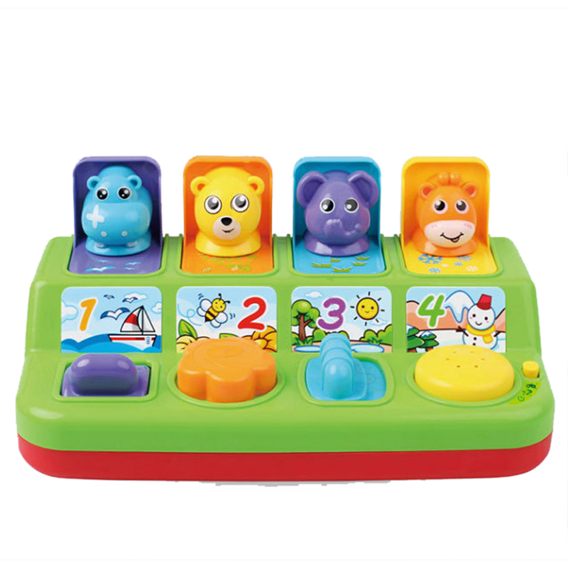 Electronic Toy Kids Toys Game Cute Animals Music Toy Kids Interactive Toddlers Baby Learning Development Educational Toy