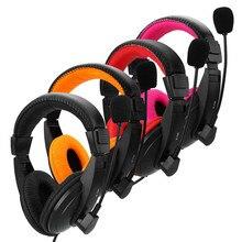 3.5mm Jack grandes Auriculares de juegos de Auriculares buena Bass Estéreo Ordenador auricular Con Micrófono Para PC reproductor de Casque