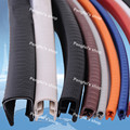Free shipping 15m 7mm width 10mm height U type rubber sealing strip for cars or table etc.
