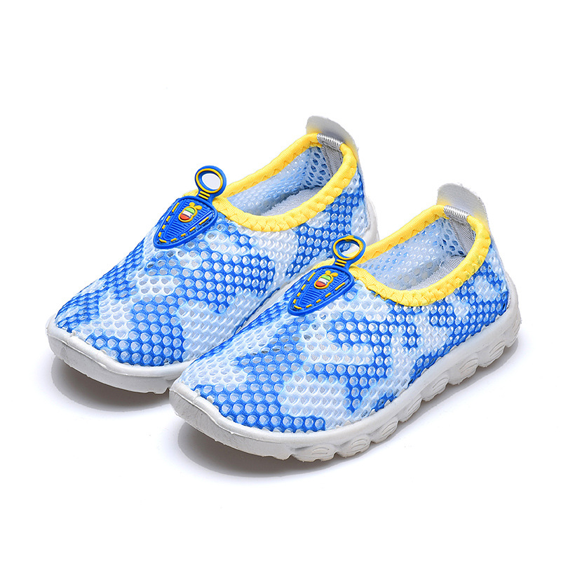 JGSHOWKITO Summer Autumn Kids Shoes Cut-outs Breathable Children Sports Shoes Boys Girls Loafers Air Mesh Soft Sneakers Fashion