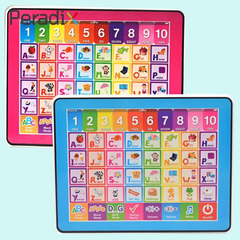 Дети сенсорный Голос Компьютера Планшеты ys2921d английского языка исследование машина игрушка подарок
