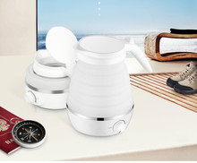 Travel electric kettle mini portable folding kettle family fold Overheat Protection