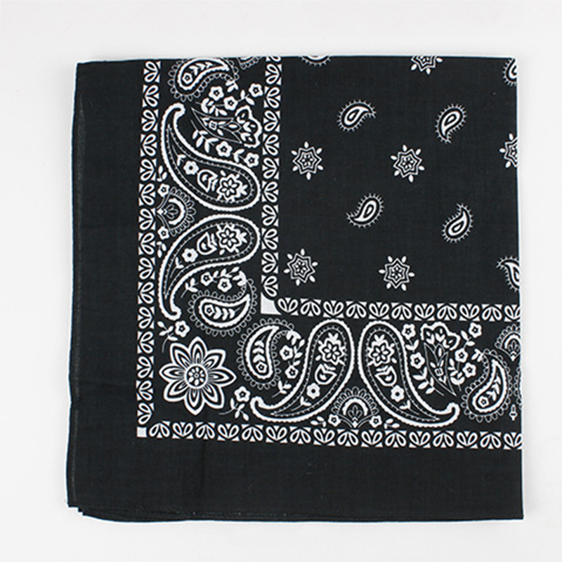 New Arrivals Cotton Print Cashew Flowers Handkerchief For Men Weddding Chest Towel Men's Accessories Hanky Suits