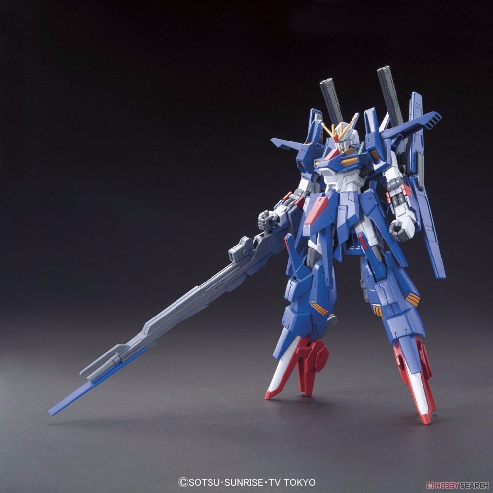 Gundam Build Fighter Bandai HGBF 045 ZZII double Zettsu 1/144 Gundam hobby model building toys kids игрушки из сериалов gundam bandai hgbf 38 038 gundam tryon zz