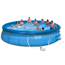 Baby net-clip swimming pool kids and Family pool Round top ring Inflatable Super-thick pool Intex swimming pool and accessories цена в Москве и Питере