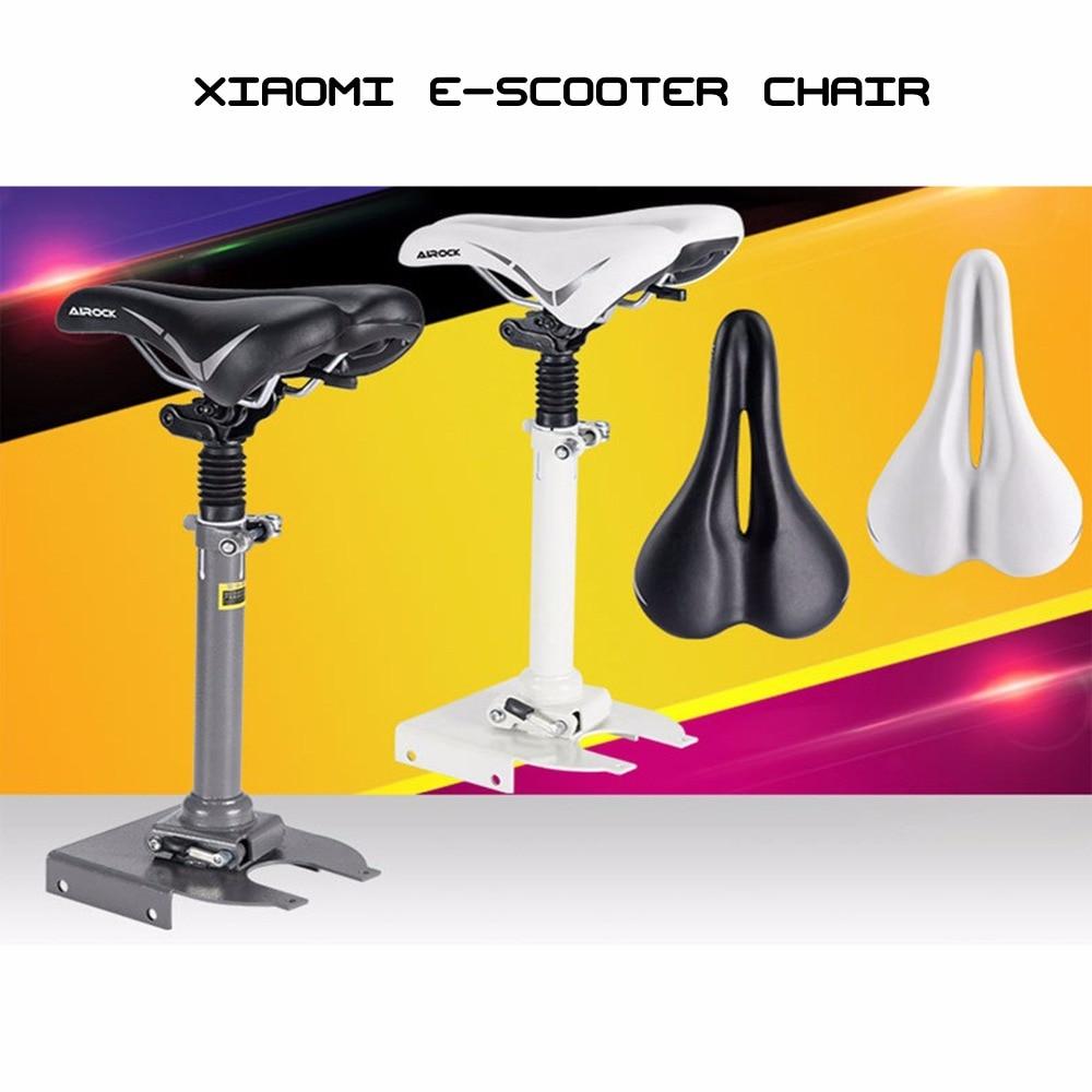 Chaise pliante facile à installer selle de planche à roulettes électrique pour Xiaomi Mijia M365 Scooter pliable siège absorbant les chocs confortable