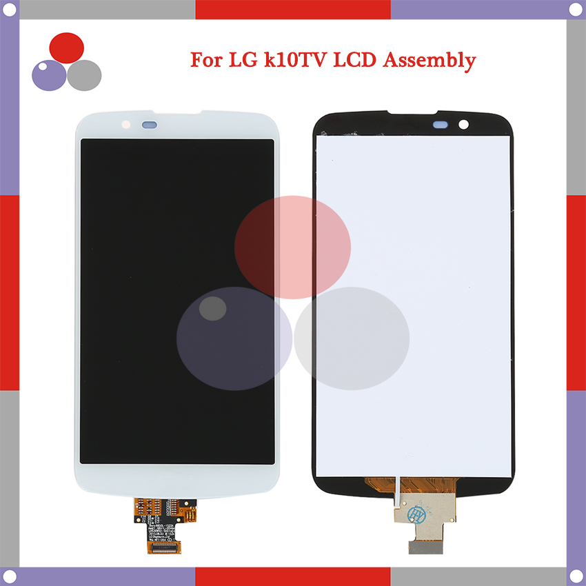 ФОТО 20Pcs/lot For LG K10 TV version K10TV K430tv LCD Screen Display + Touch Screen Digitizer Assembly DHL Free shipping