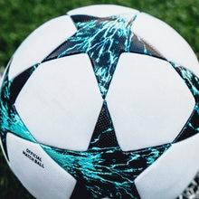 цена 5 Size Soccer Ball PU Leather Football Children Outdoor Match Training Balls Kids Gifts bola de futebol soccer ball profesional онлайн в 2017 году