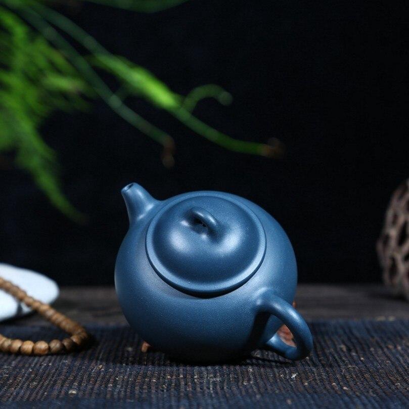 Горячая 2017 Исин оригинальных минной чистый 280 мл РУЧНАЯ ручной Zisha чайник фиолетовый чайник чернила зеленый грязи три ноги чайник специальн...