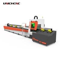Flexible operation 500w 750w 2000w fiber laser cutting machine for metal tube