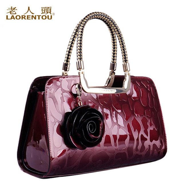ab965e437ea3 LAORENTOU women genuine leather handbags new 2013 fashion vintage bag  ladies totes women s cowhide designer brand handbag sale