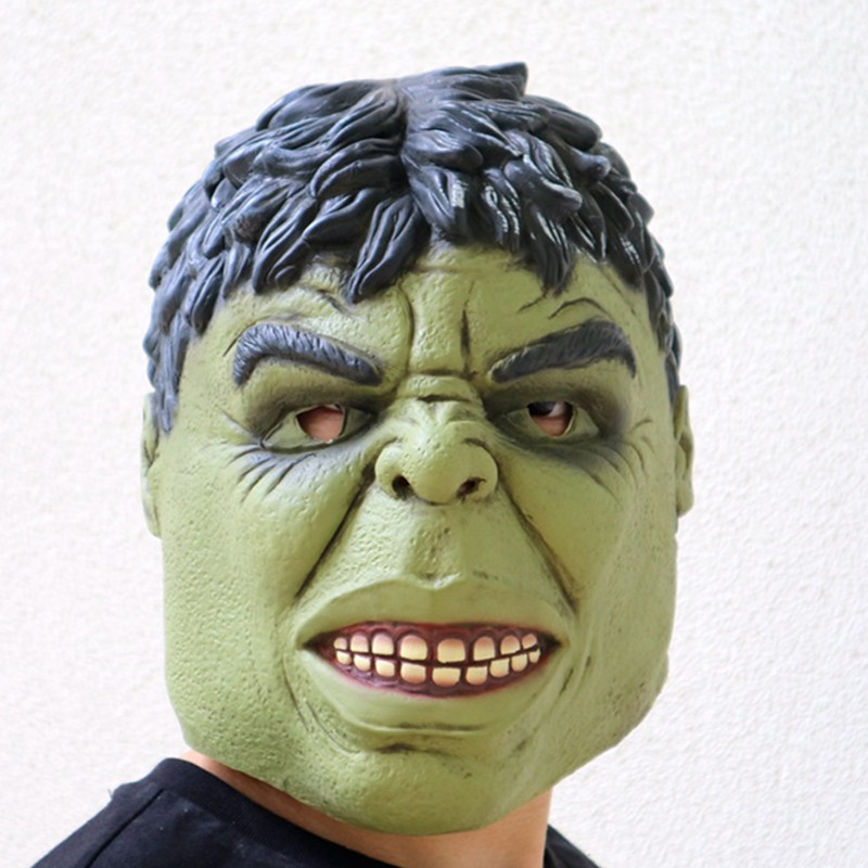 Hulk Masque Movie Avengers Endgame Latex Masks Cosplay Scary Minecraft Terrorizer Mask in Boys Costume Accessories from Novelty Special Use
