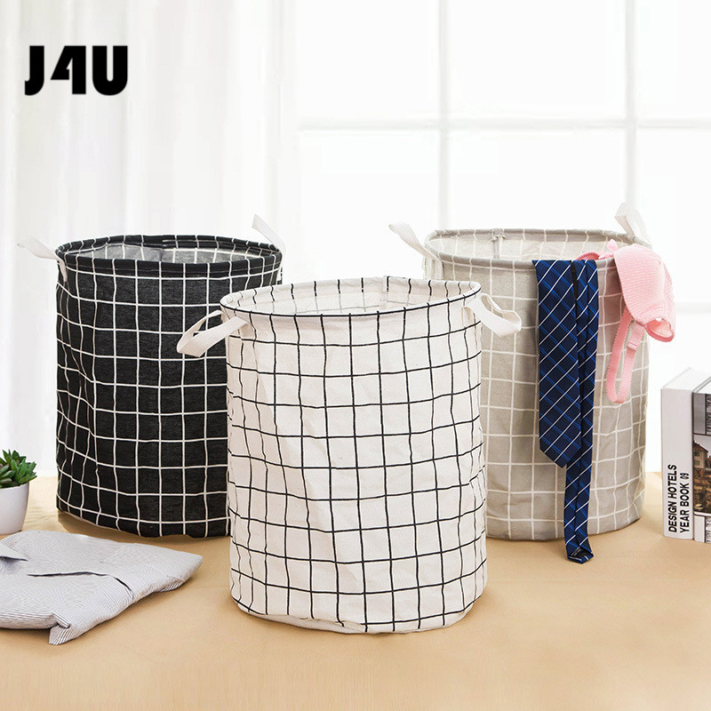 2019 New Laundry Basket Large Hamper Foldable Bag for dirty clothes Organizer laundry Bag Picnic Baskets