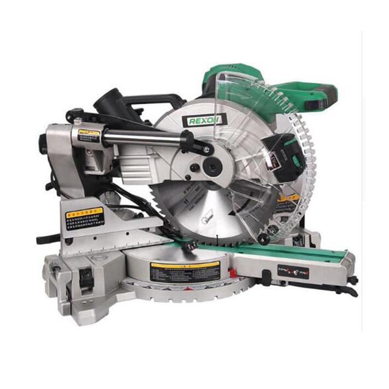 Dual Circular Saw Cutting Machine Aluminum Sliding Compound Mitre Saw & 305mm Miter Saw 1800 W 220/ 50hz SM3057R circular saw stavr pde 210 1800