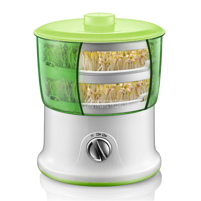 DYJ-S6365 1.8L Intelligent Bean Sprouts Maker household Large Capacity Thermostat Green Seeds Growing Automatic Sprout Machine DYJ-S6365 1.8L Intelligent Bean Sprouts Maker household Large Capacity Thermostat Green Seeds Growing Automatic Sprout Machine