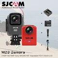 Подлинная оригинальный SJCAM M20 Wi-Fi Гироскоп Спорт Действий Камеры HD 2160 P 16MP часы Bluetooth таймер пульт дистанционного управления мини-sj 4000