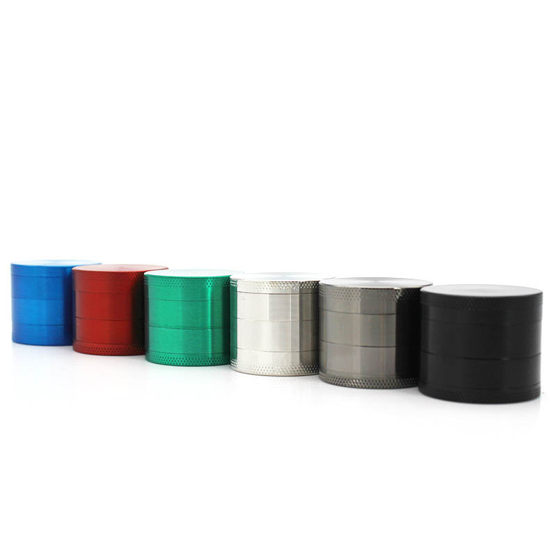 Smoke Detectors Cigarette Tools Zinc Alloy Mini Tobacco Grinder Chromium Crusher Mill Spice Herb Grinders 4 Layers