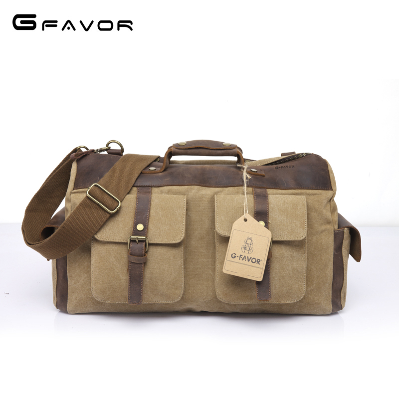 Large Capacity Vintage Canvas Travel Bag Multi-function Men Handbag 2018 New Fashion Crossbody Bag Male Shoulder Messenger Bags augur men s messenger bag multifunction canvas leather crossbody bag men military army vintage large shoulder bag travel bags