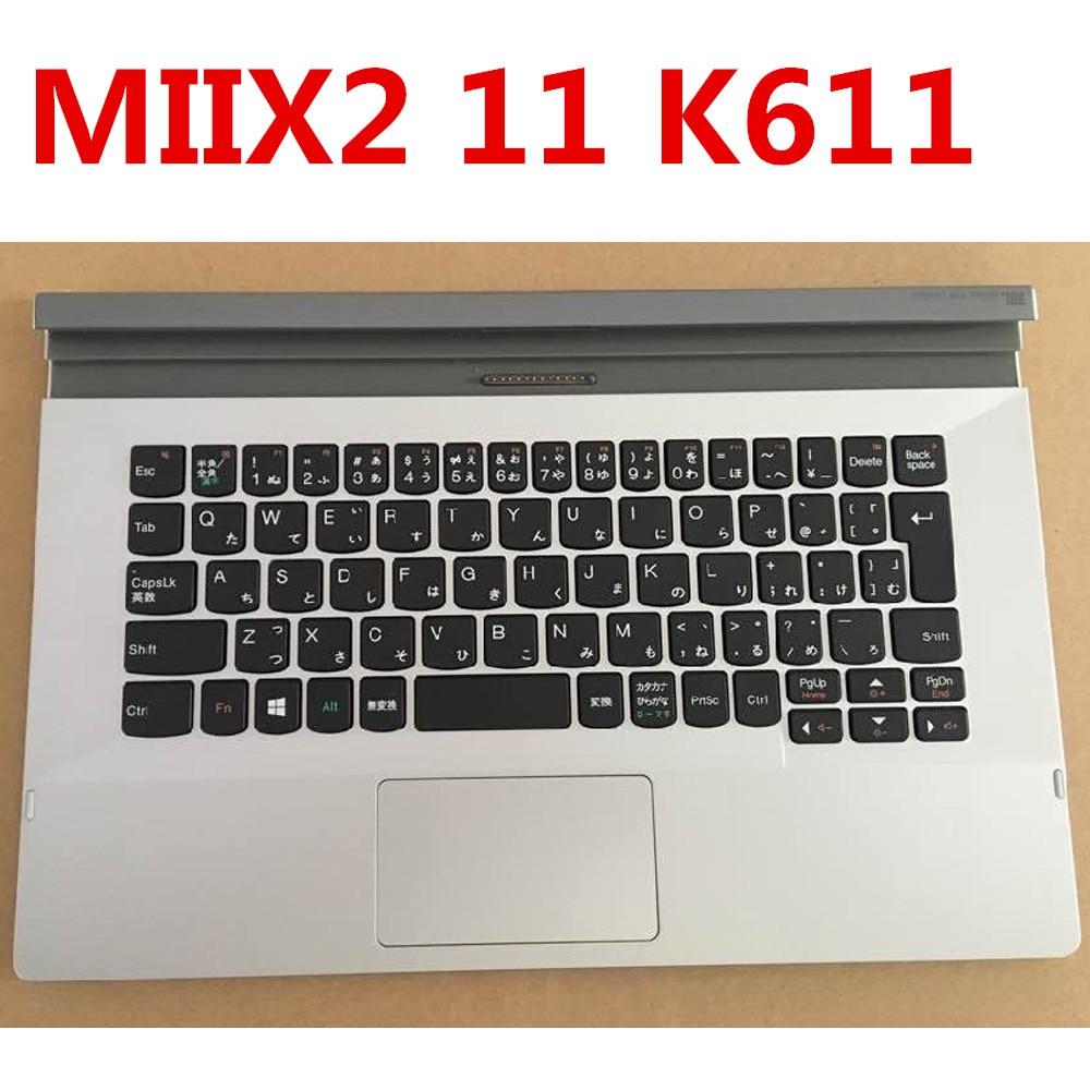 New Original Laptop Keyboard for Lenovo Tablet MIIX2 11 Genuine K611 for Lenovo Free S new original for lenovo miix 2 tablet keyboard dock k610 new 10inch tablet keyboard case for lenovo with topcase and trackpad