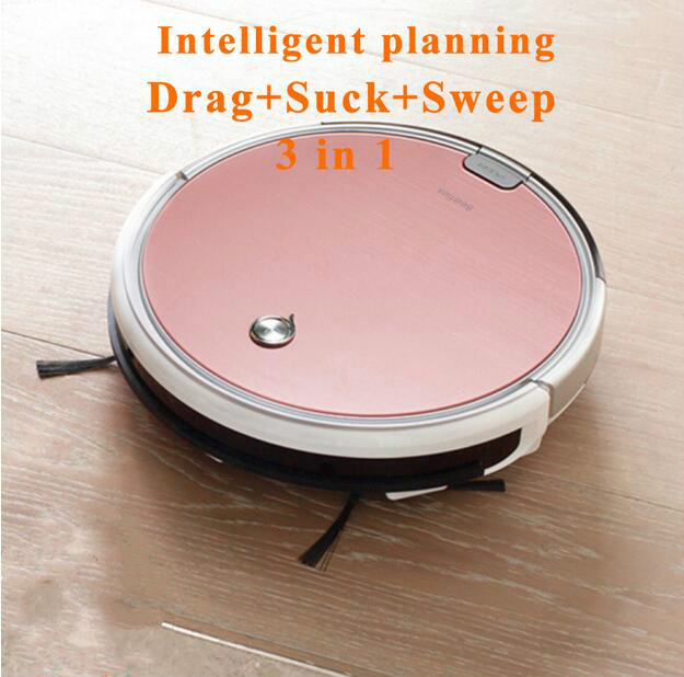 ILIFE X620 Robot Vacuum Cleaner Sweep and Wet Mopping Disinfection For Hard Floors&Carpet Run 120mins Automatically Charge 2