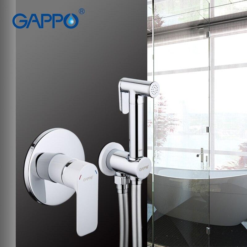 GAPPO Bidet robinets de douche en laiton salle de bain robinet toilette propre main douche Spray Bidet toilette laveuse mélangeur pluie douche nettoyant ensemble