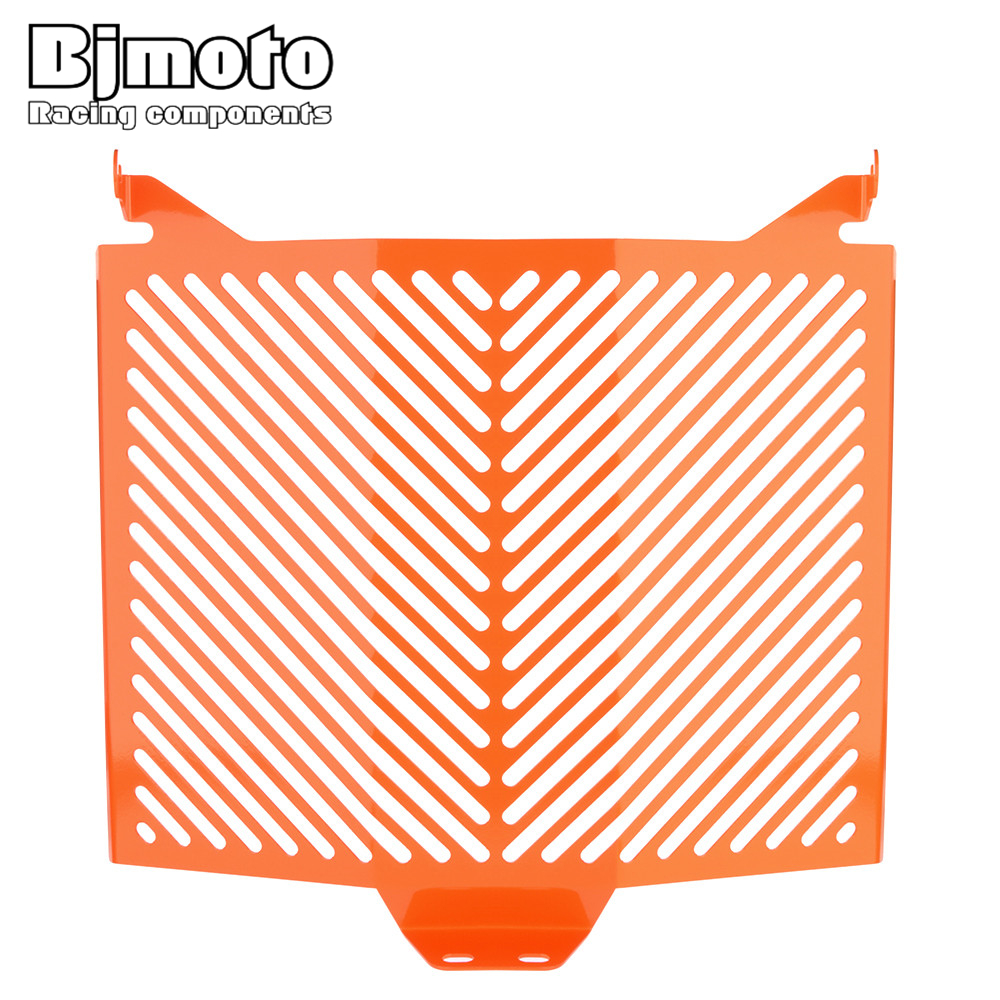 Bjmoto For KTM 1290 Super Duke R 2013-2017 CNC Motorcycle Accessories Radiator Guard Protector Grille Grill Cover arashi motorcycle radiator grille protective cover grill guard protector for 2008 2009 2010 2011 honda cbr1000rr cbr 1000 rr