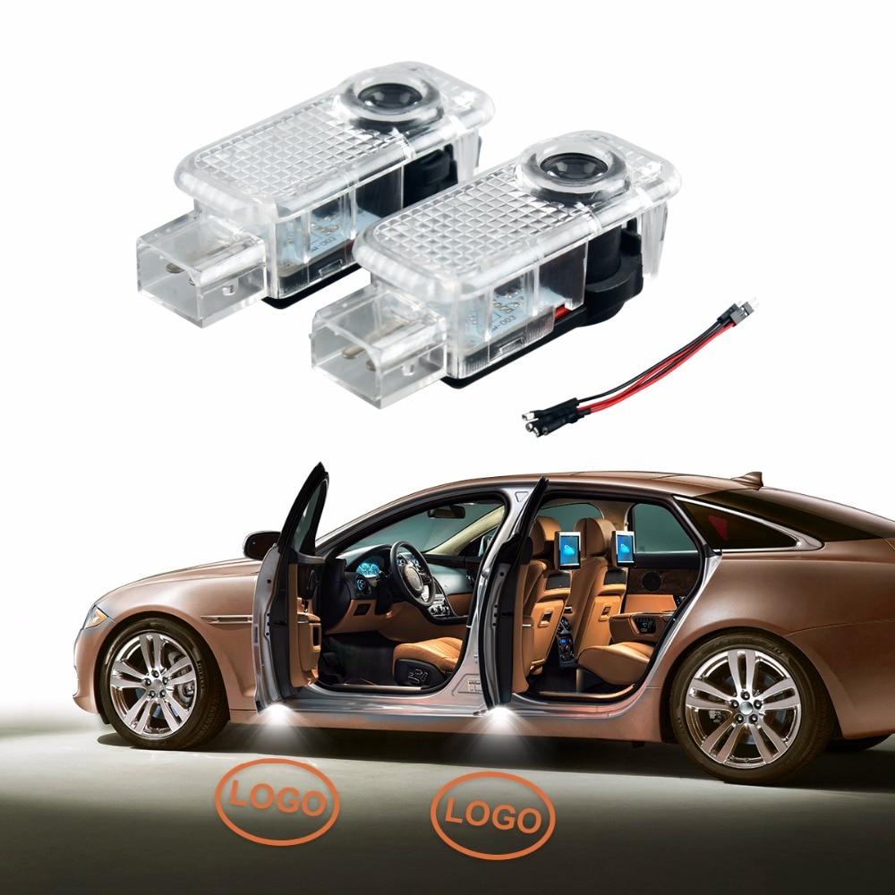 2xLED Car Door Light Logo Projector Decorative Lamp for Audi A8 A4 A5 A6 A7 Allroad Q3 Q5 Q7 R8 RS4/5/6 S3/4/5/6/7/8 SQ5 TT/TTS 0001108175 0986018340 458211 new starter for audi a4 a6 quattro volkswagen passat 2 8 3 0 4 2 l